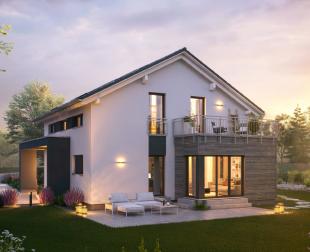 Referenzhaus des Marktführers für Ausbauhäuser: massahaus
